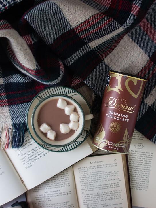 Fair trade drinking chocolate grown in Ghana