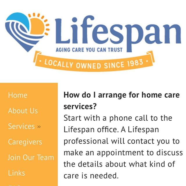 We are in love with our new site and hope you find it just as accessible as it is informative. Thanks again @designwithhive for all of your help with this launch!  www.lifespancare.com