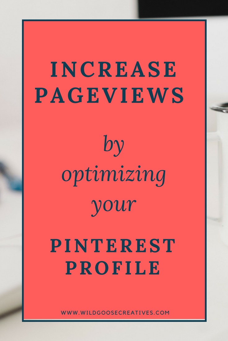 Pinterest Profile Optimization process