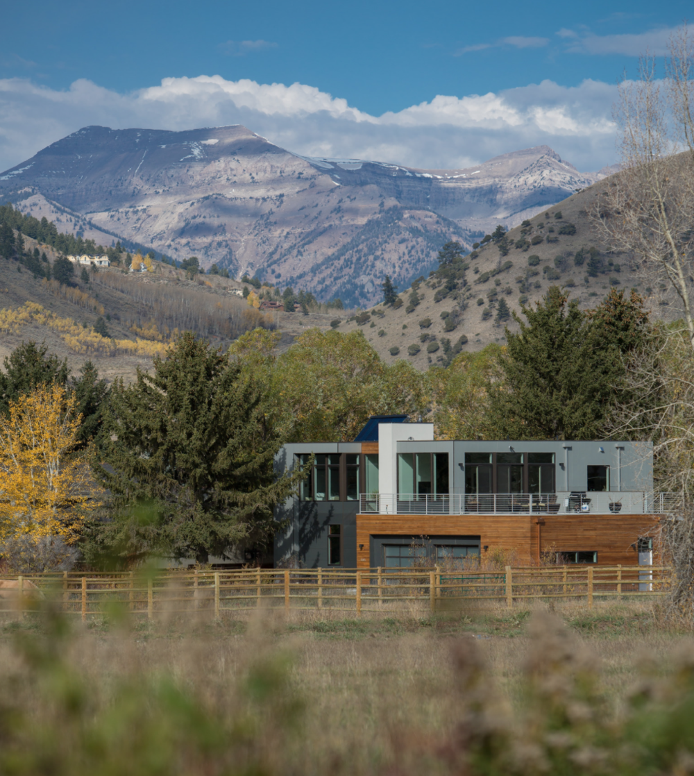 Photo Credit: Sun Valley Photo // Architect: Chris Pardo Design // 4 beds, 4 baths, 6 modules with site-built garage and basement, 4400sf