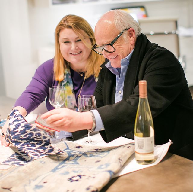 It's hard to put into words the honor it was to interview and photograph the father-daughter team behind @alantz_design . A heartfelt thank you to @barrylantz and @amlantz0213 for allowing me an insider's look into their wild, fun and professional atmosphere! Checkout my recap from @indianadesigncenter's 2018 LUXE event and Friday night's honored guest by clicking the link in my bio! 📸 by me 😉. #mod_abode #interiordesign #indianadesigncenter #idcluxe2018 #luxe2018 #kravetinc #kravet100 #kravetfabrics #design #designinspo #loveindy #interview
