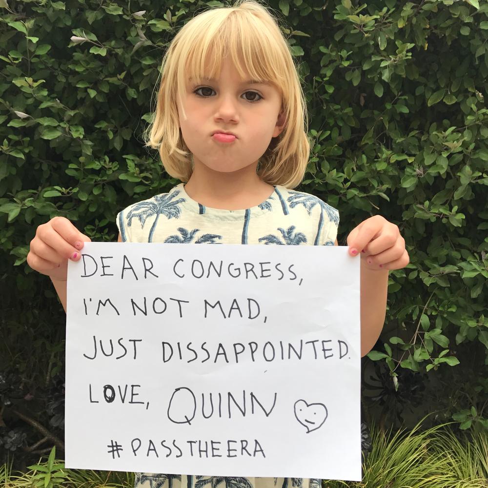 Quinn McNamara, Age 5.5