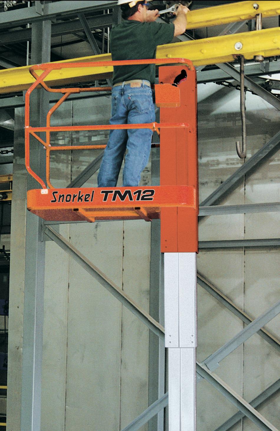 Snorkel TM 12 Mast Lift