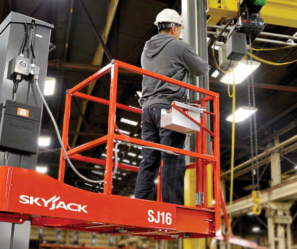Skyjack SJ 16 Mast Lift