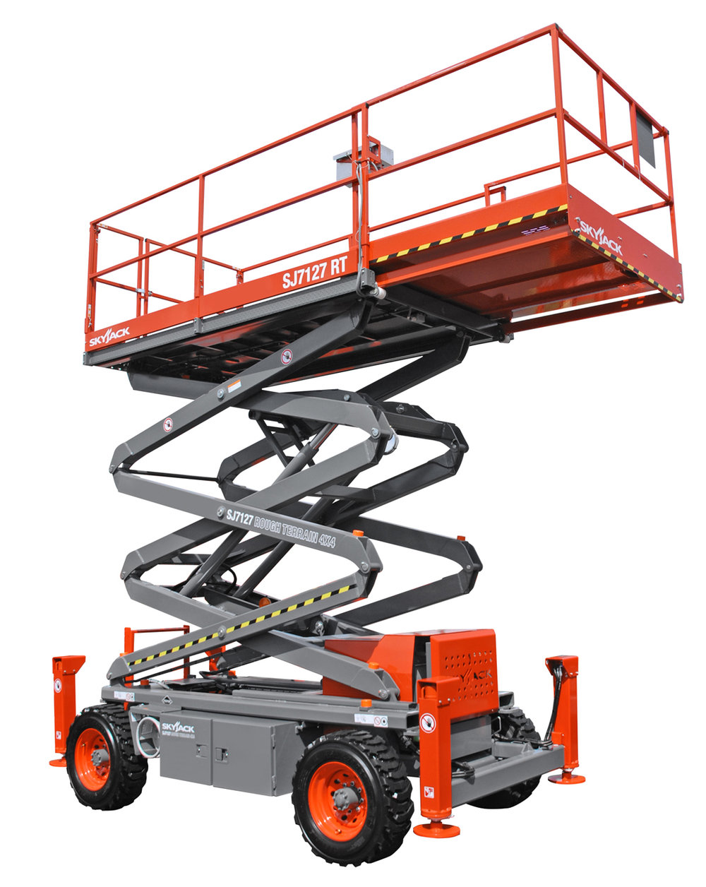 Skyjack 7127 Rough Terrain Scissor Lift
