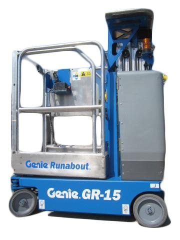 Genie GR 15 Mast Lift