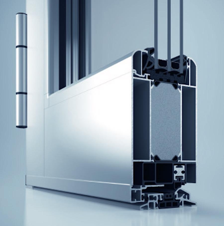 Heroal D72 RLFlächenversetzt - » Bautiefe: 82/82 mm,Flügel bis 68 mm (Glas) und 72 mm (Füllung)» Luftdurchlässigkeit: Klasse 4» Schlagregendichtheit: 4A» Wärmedämmung: UD ≥ 1,0 W/m2K» Schallschutzklasse: 1 – 3» erfüllt alle Anforderungen der aktuellen EnEV 2014» Zertifizierung Einbruchhemmung bis Widerstandsklasse RC 3für Profil-, Beschlag- und Füllungstechnologien» hochwärmegedämmtes 3-Kammer-Profilsystem