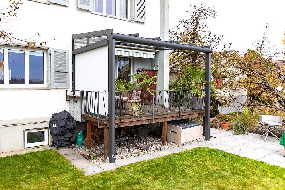 Terrassenüberdachung in Zollikofen