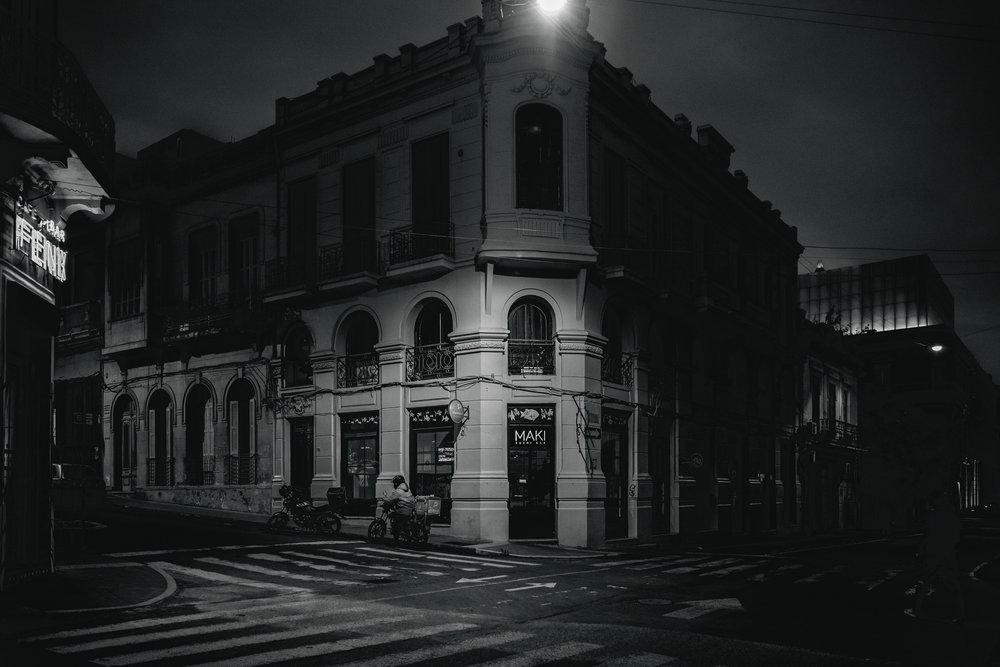 A City's Night