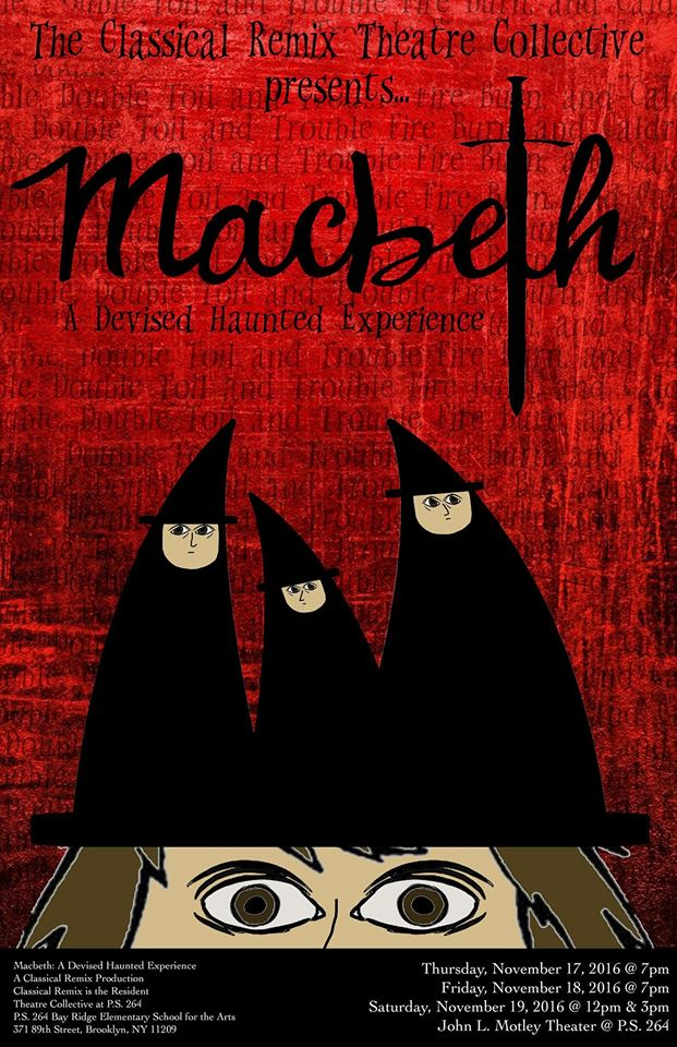 MACBETH: A DEVISED HAUNTED EXPERIENCE   November 2016