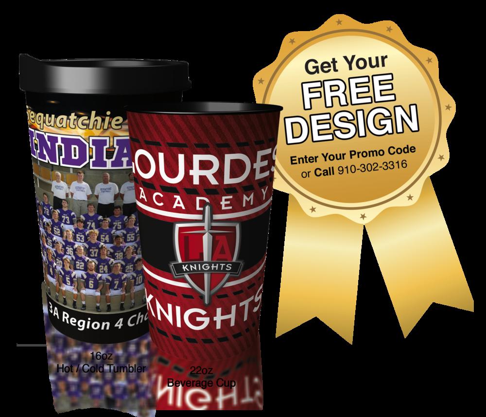 Custom Cups Promo