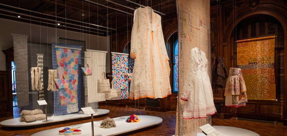 Scraps: Fashion, Textiles, and Creative Reuse at Cooper Hewitt in NYC through April 23, 2017.