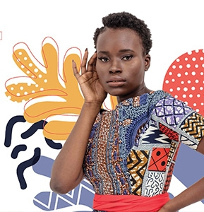 African-Print Fashion Now! A Story of Taste, Globalization, and Style   March 26–July 30, 2017
