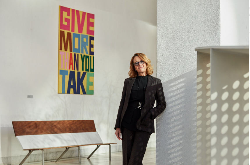 Ann Philbin, the director of the Hammer Museum in Los Angeles. The museum highlights emerging and under-recognized contemporary artists and is working on a major expansion project.     CreditBrad Torchia for The New York Times