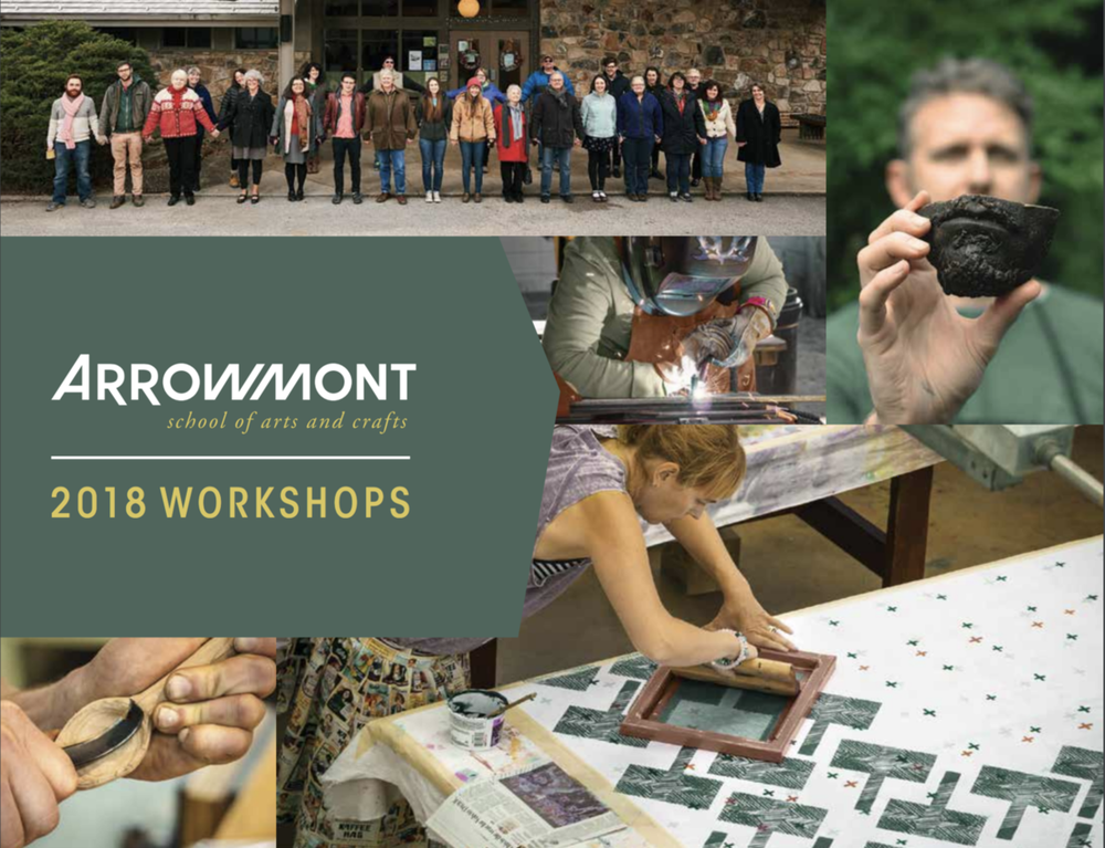 arrowmont workshops 2018.png