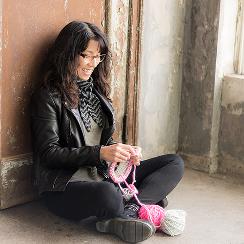 Pam Powers<br>Knitwear Designer