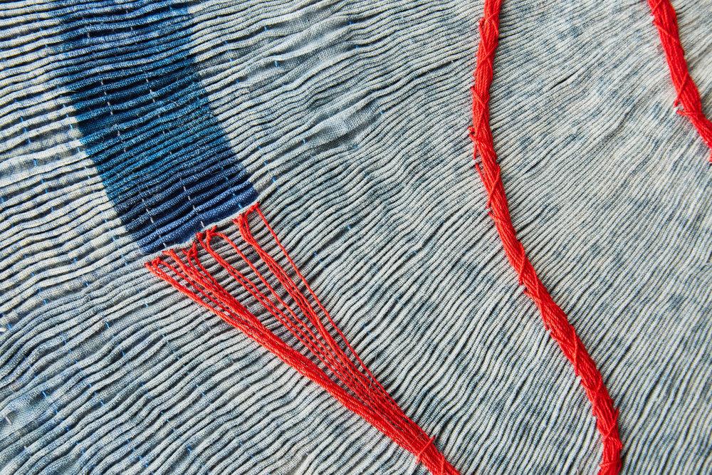 Detail of Imprint by Caroline Bartlett. Photo by Yeshen Venema