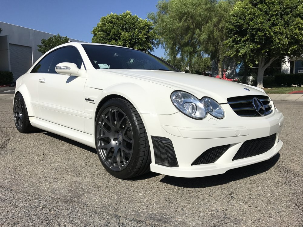 2008 Mercedes CLK63 Black Series