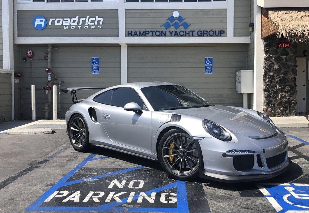 2016 Porsche GT3RS GT Silver