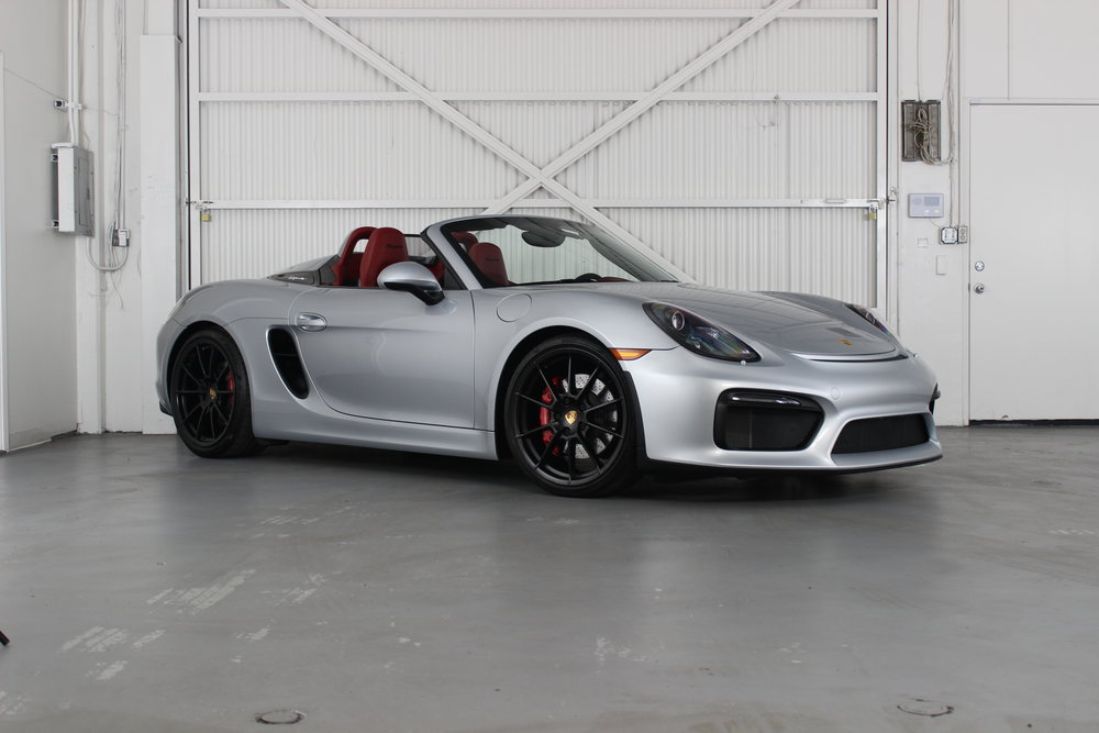2016 Porsche Spyder GT Silver