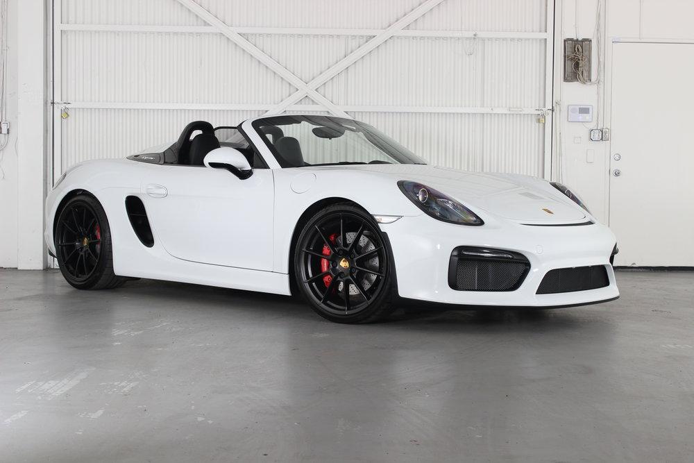2016 Porsche Spyder