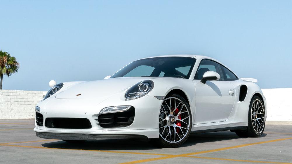 2015 Porsche Turbo 15k miles