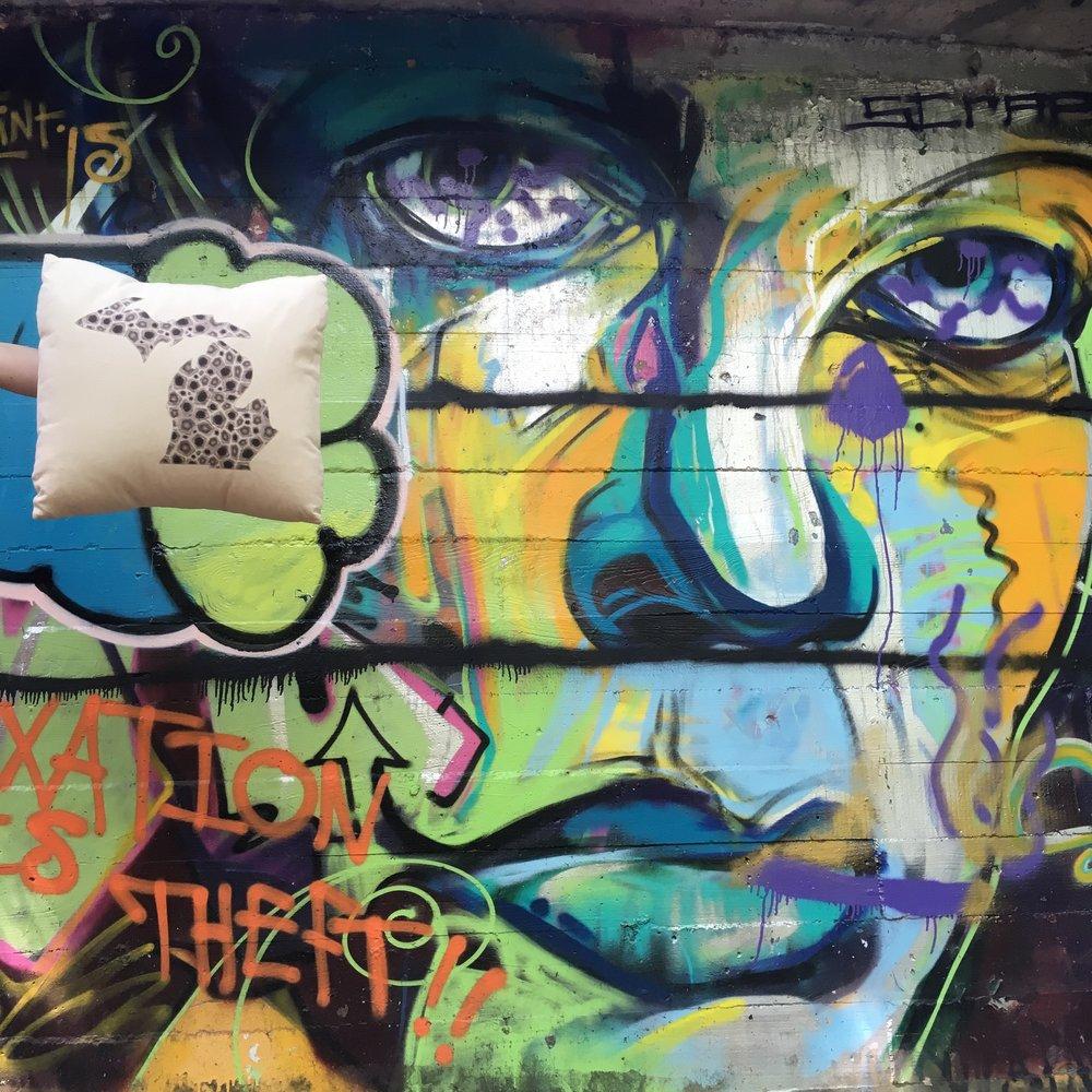 graffiti art TC state hospital