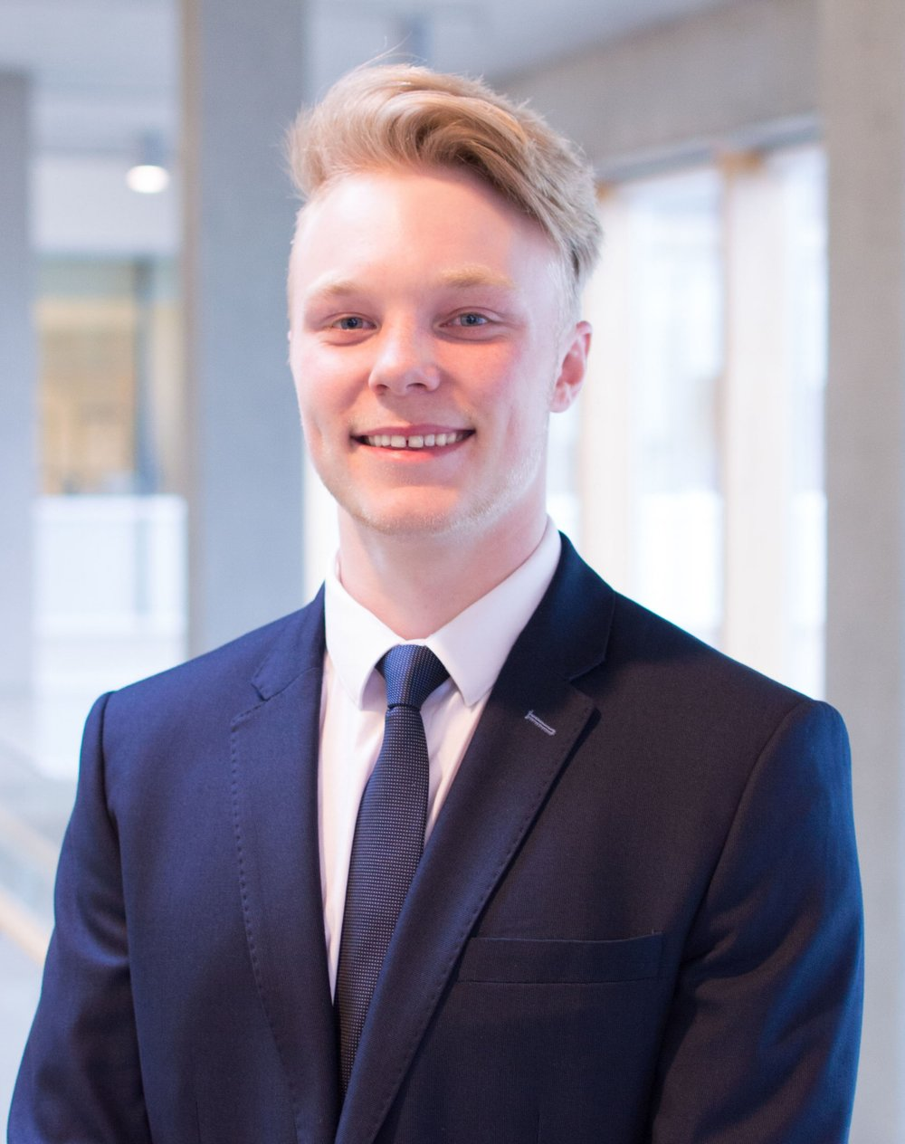 Tyler Halverson Position: Corporate Relations Coordinator Year: 2 Concentration: Accounting and Finance One Emoji that describes you and why: 💪🏻 describes me because I am always doing some sort of sport or physical activity. What are you excited to do you in your term? I'm excited to get make some great connections and relationships with industry professionals, and make events possible by getting the funding from companies. As well, I am super excited to make continuing friendships and relationships with the BASS members.
