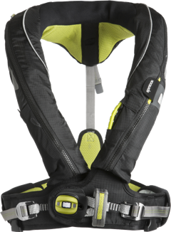 Spinlock Deckvest PFDs - There simply isn't a comparable inflatable PFD with integrated harness. We've been wearing these for years and they've stood up to all sorts of conditions. They allow us to tecther onto the boat when things get dicey and keep us safe by having all sorts of bells and whistles: spray hood, LED light, crotch straps, and a line cutter. We have each of ours outfitted with the Ocean Signal MOB beacon shown above and have added extra