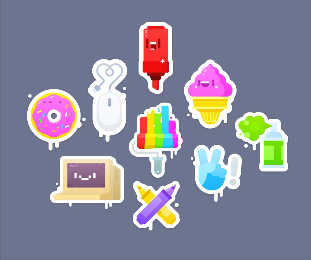 ⋮Kano Sticker Packs →