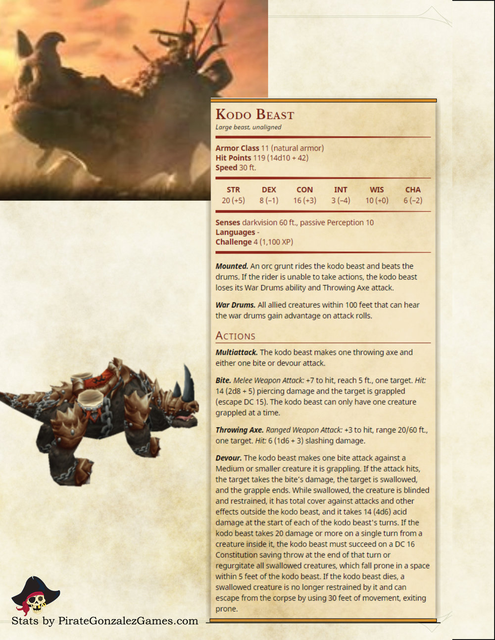 Kodo Beast