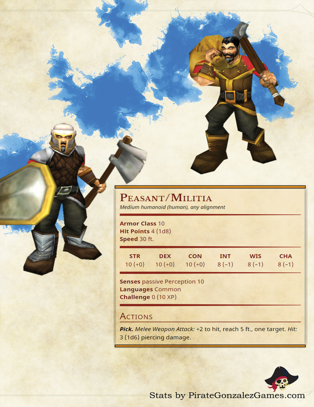 Peasant and Militia