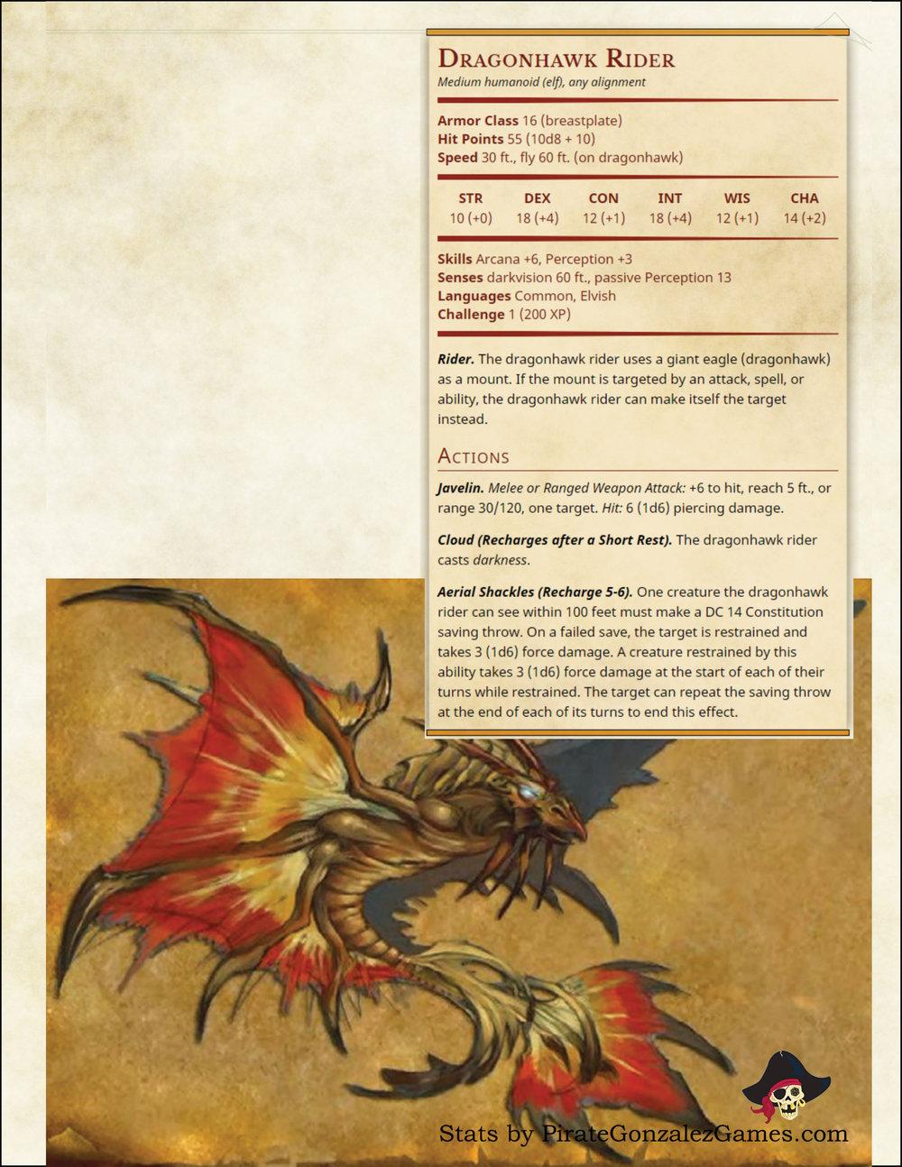 Dragonhawk Rider
