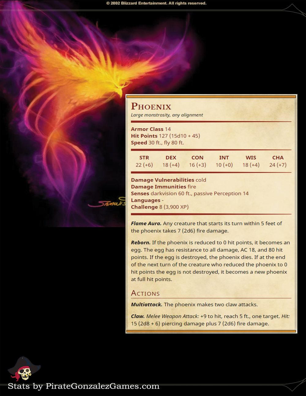 Warcraft III Phoenix