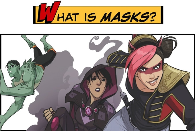 What is Masks? An awesome game.