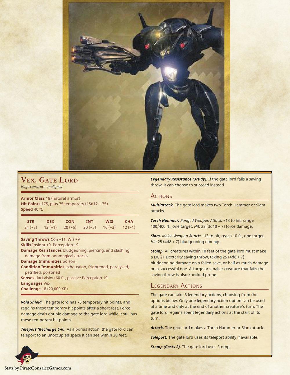 Vex Gate Lord