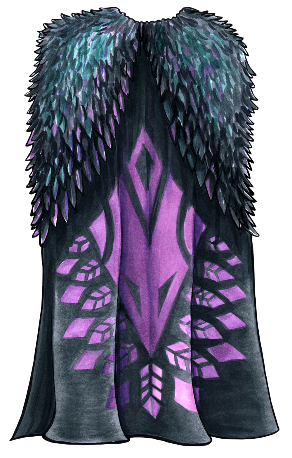 Cloak of the Raven Lord