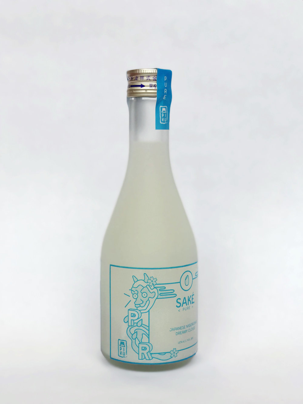 PIKU SAKÉ COMPANY,  branding, wine labeling
