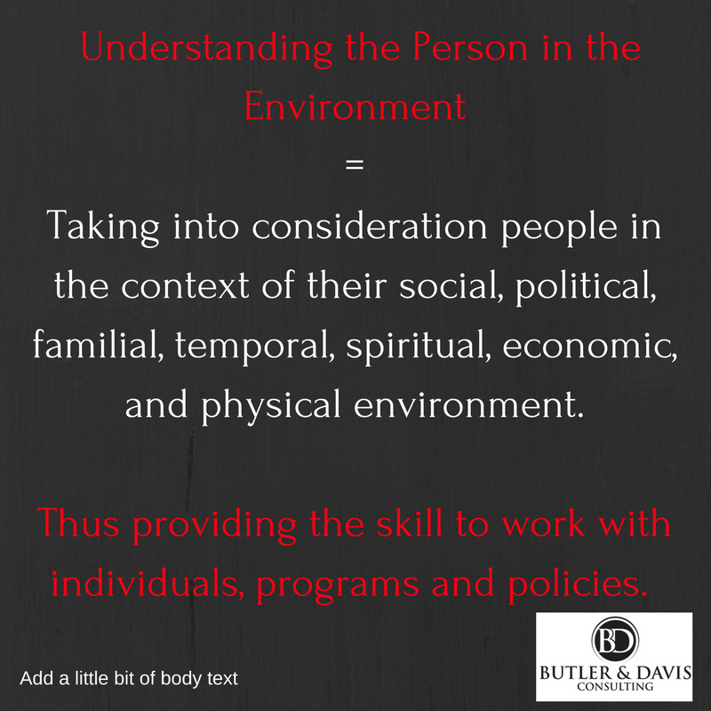 Social Workers Unique Skill Set