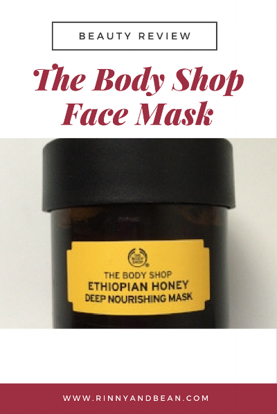 Our beauty tips and review on the Ethiopian honey mask from The Body Shop.