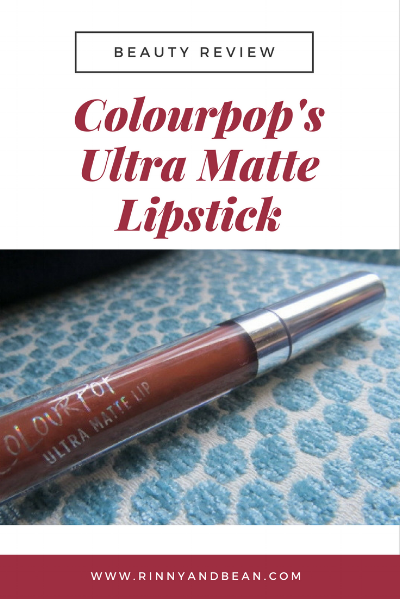 Our beauty tips and review on Colourpop's Ultra Matte Lipstick!