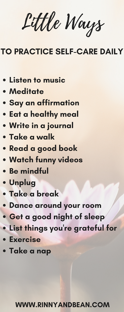 Wellness | Wellness Tips | Self Care | Self Care Routine: Here are little ways to practice self care daily!