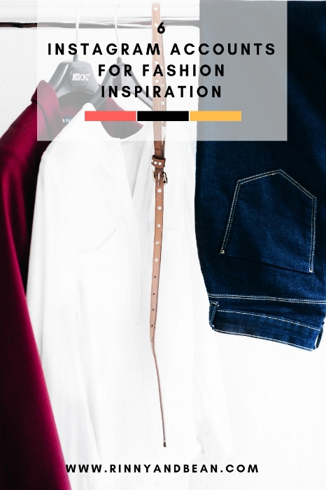 Fashion Inspiration | Fashion Instagram Accounts | Style Inspiration