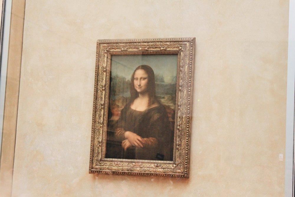 The Mona Lisa!!