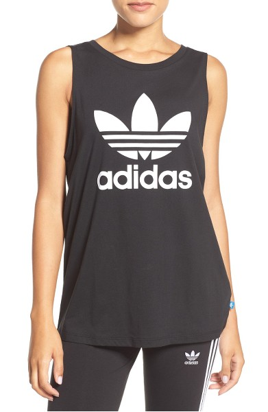 Original Trefoil Logo Relaxed Fit Tank- Adidas - Sale: $21.90After Sale: $30.00