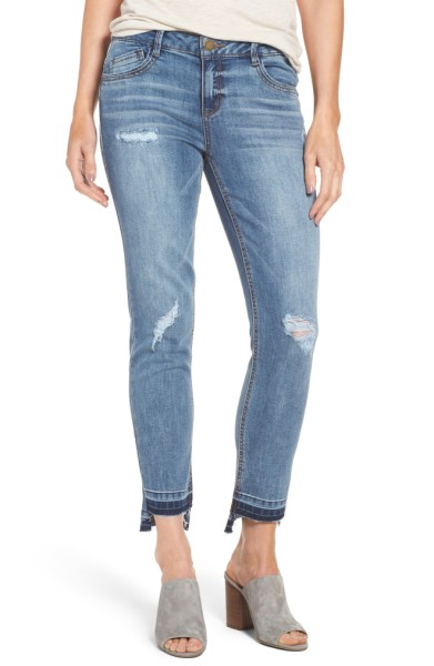 Slim Straight Leg Ankle Jeans- Wit and Wisdom - Sale: $51.90After Sale: $78.00