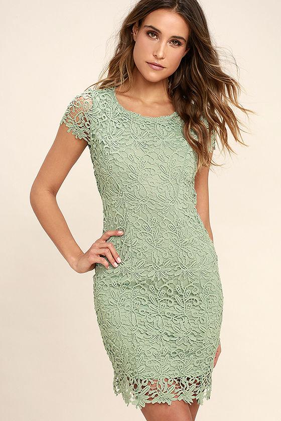 Hidden Talent Backless Lace Dress- Lulu's - $58.00