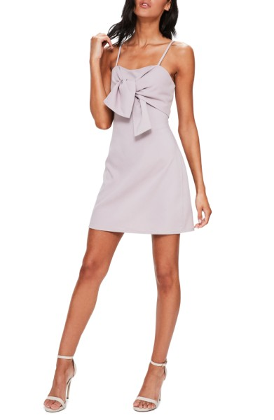 Tie Front Minidress- Miss Guided - $72.00