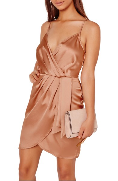Satin Minidress- Miss Guided - $62.00