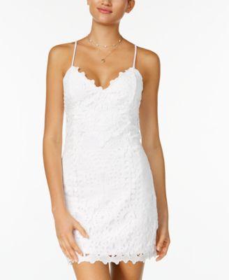 Lace Bodycon Dress- Macy's - $69.00